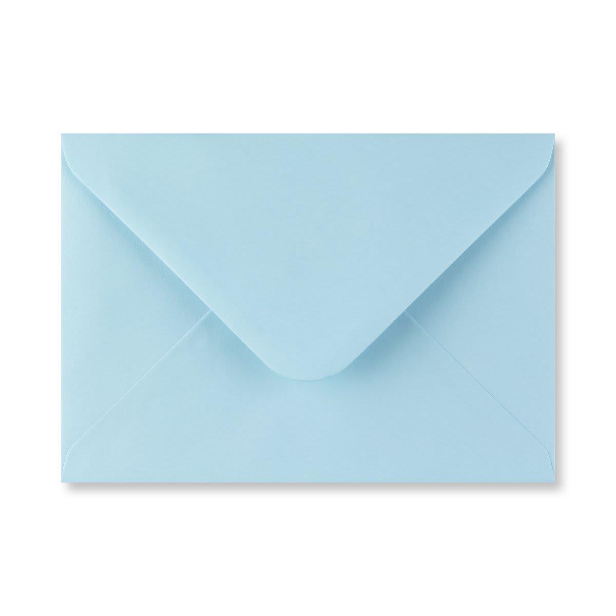 PASTEL BLUE 133 x 184 mm ENVELOPES (i8)