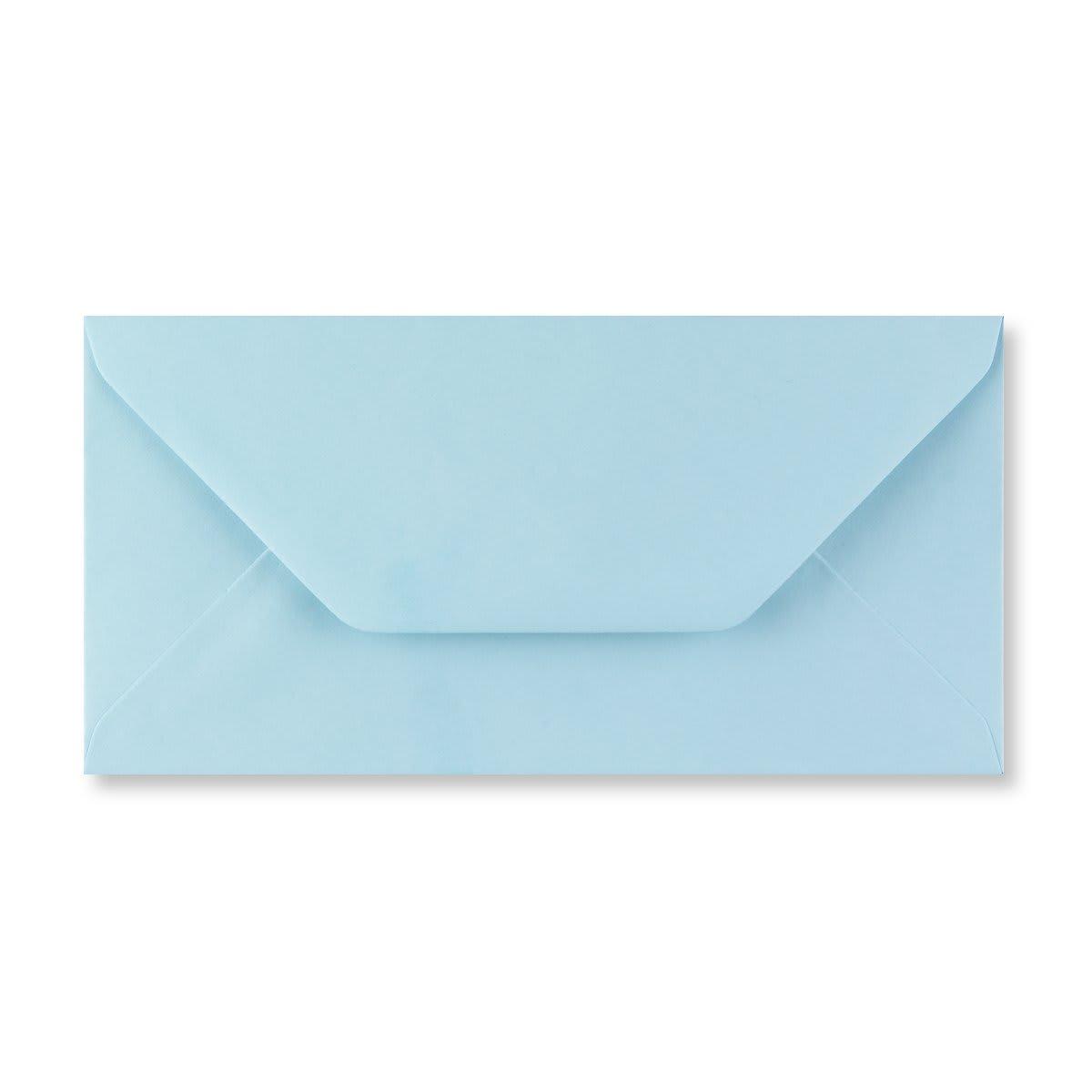 DL PASTEL BLUE ENVELOPES