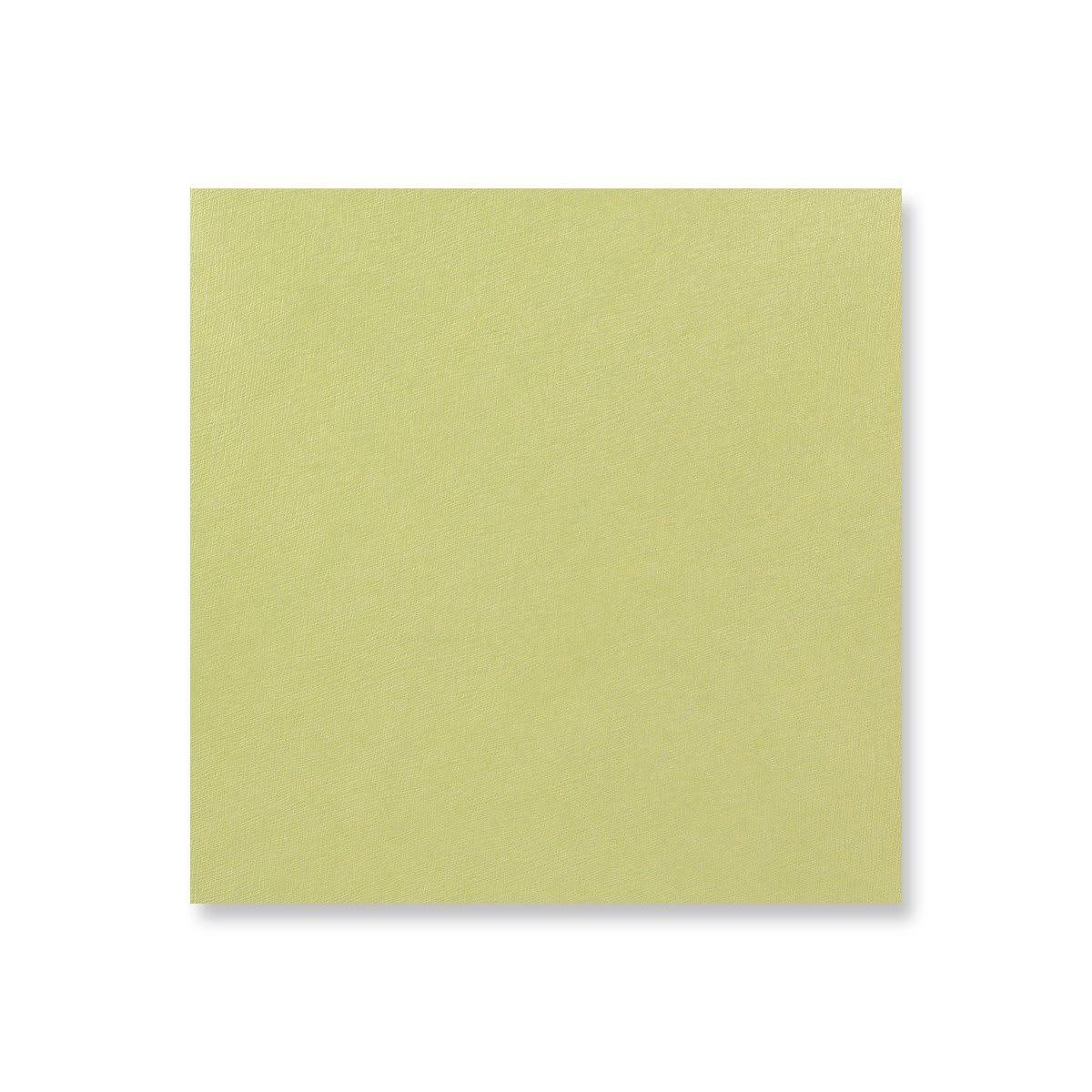 145 x 145mm BEAN GREEN POUCHETTES