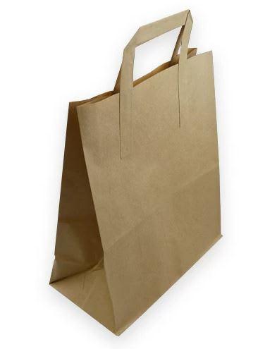 MEDIUM KRAFT CARRIER BAGS (SIZE 2)