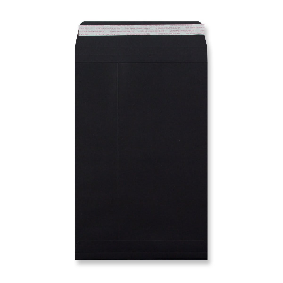 C4 BLACK GUSSET ENVELOPES