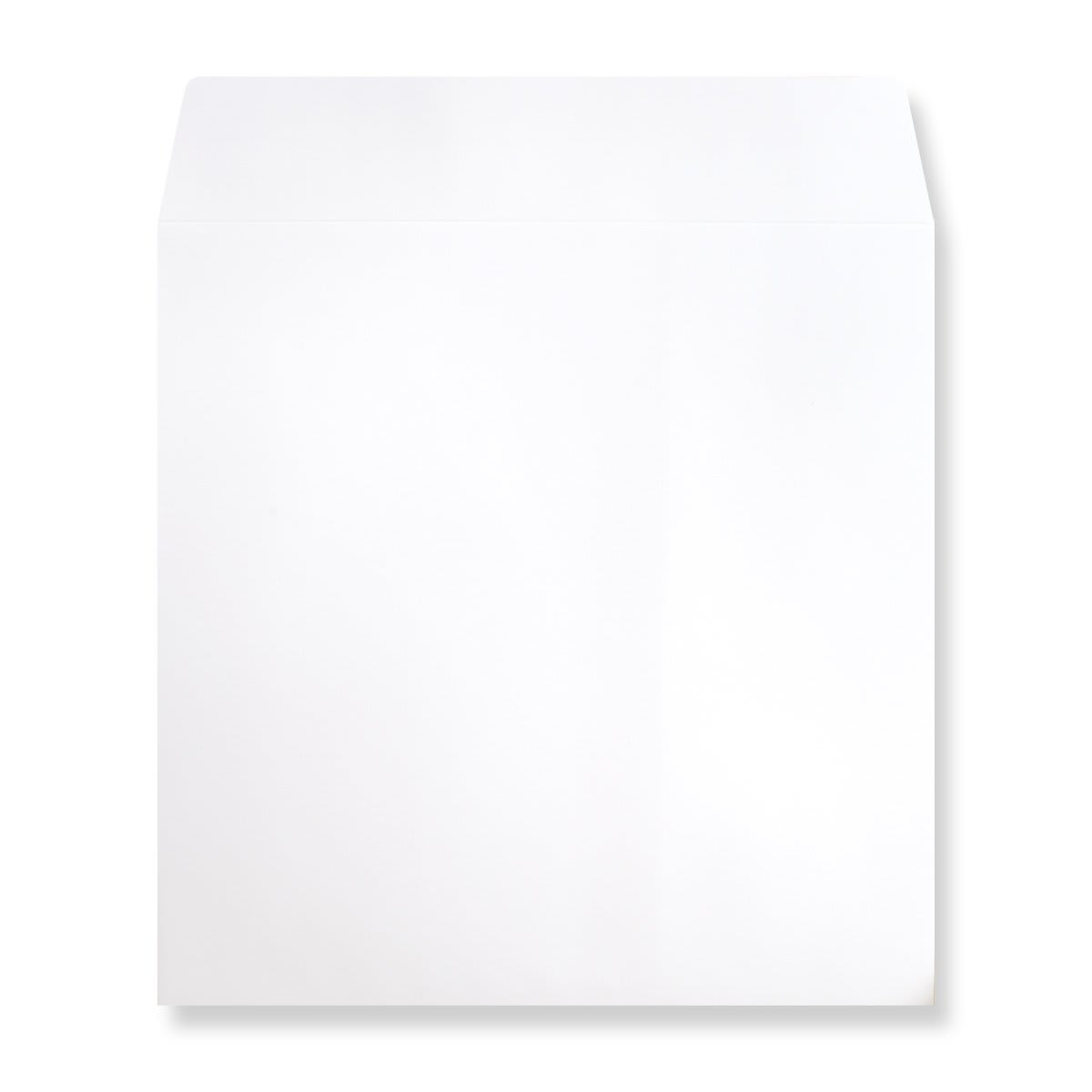 WHITE 190mm SQUARE 180GSM PEEL AND SEAL ENVELOPES