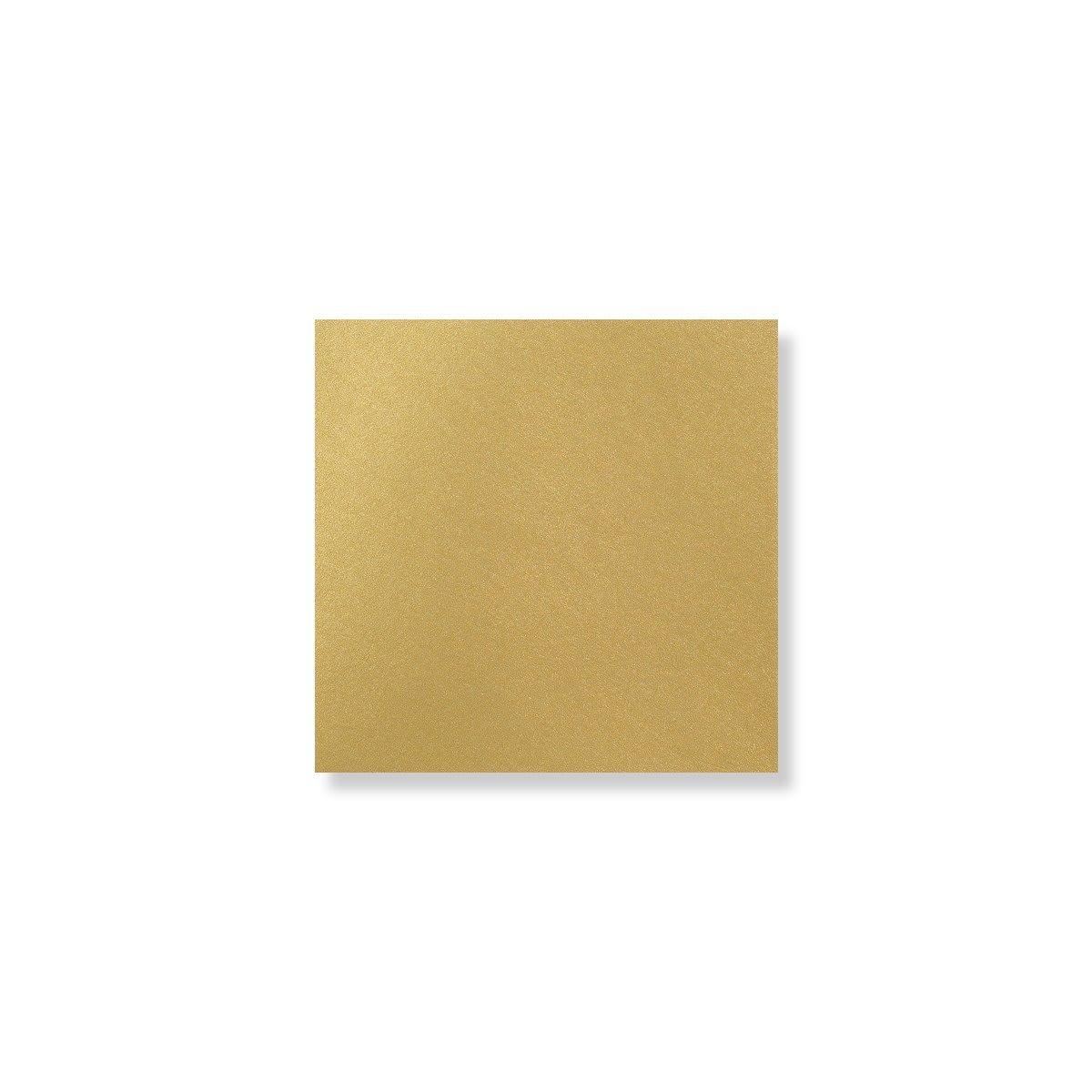 100 x 100MM GOLD PEARLESCENT ENVELOPES