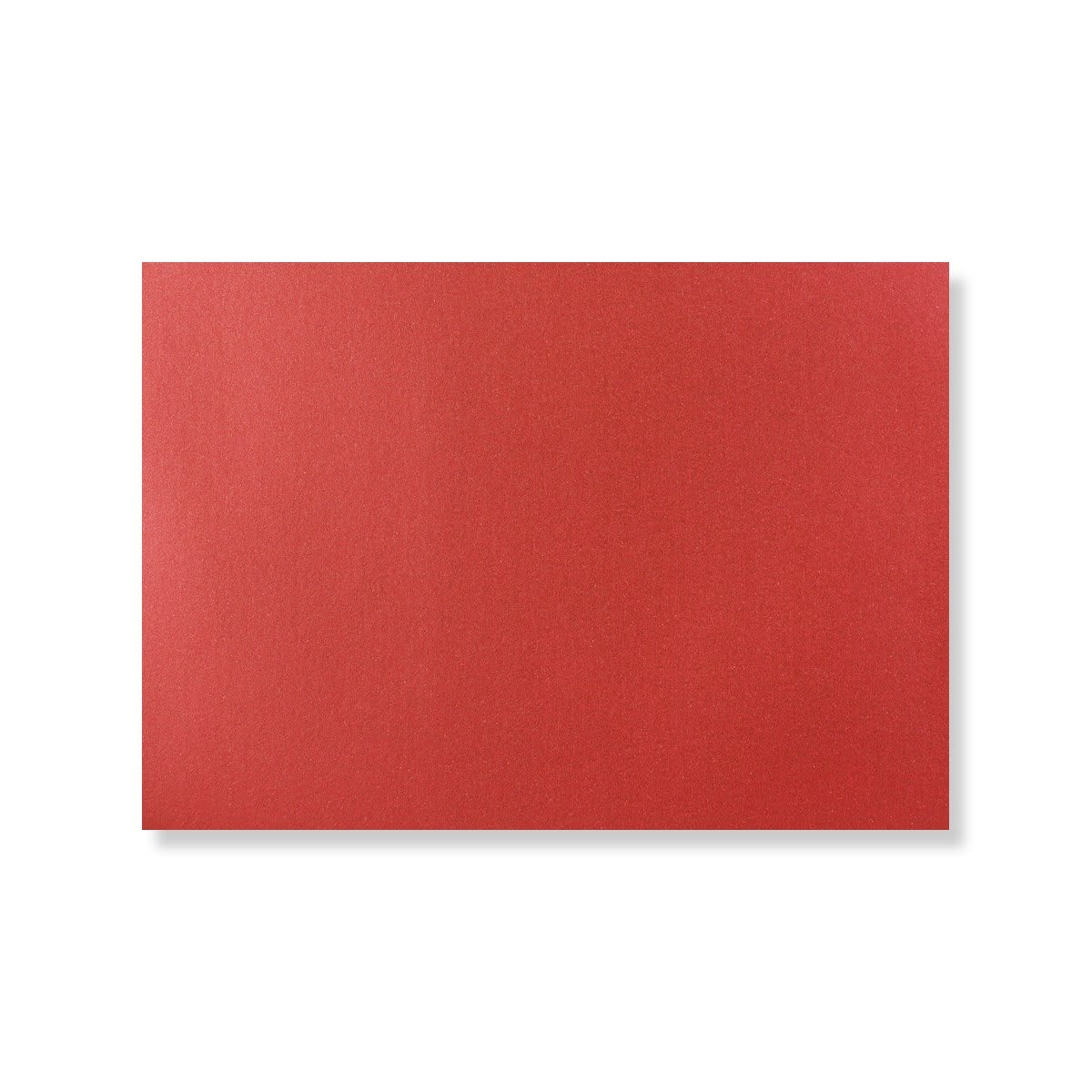 C6 CARDINAL RED PEARLESCENT ENVELOPES