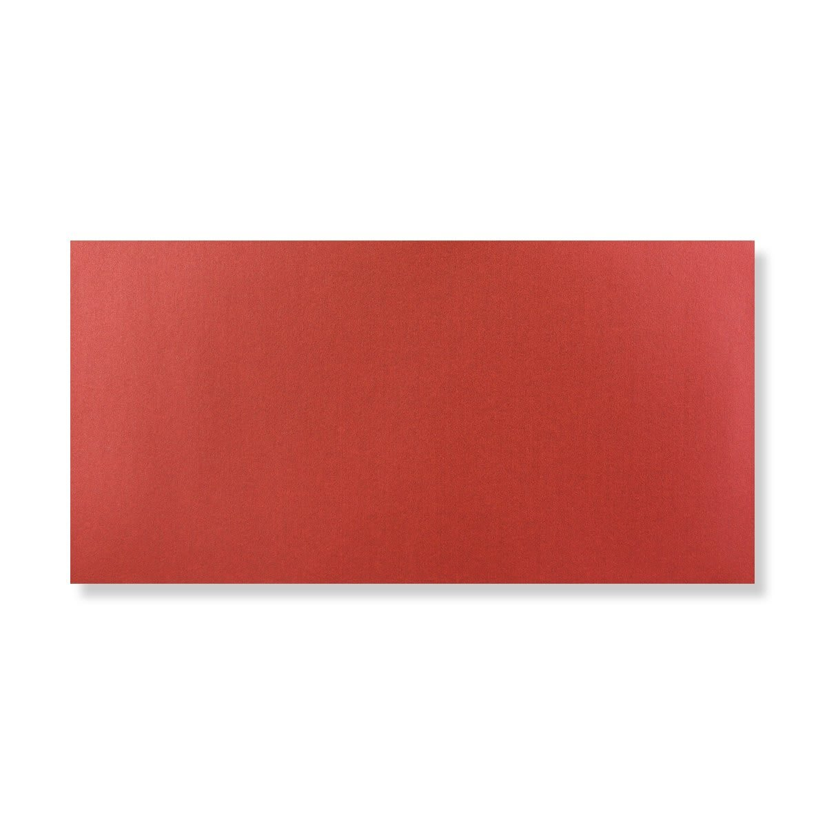DL CARDINAL RED PEARLESCENT ENVELOPES
