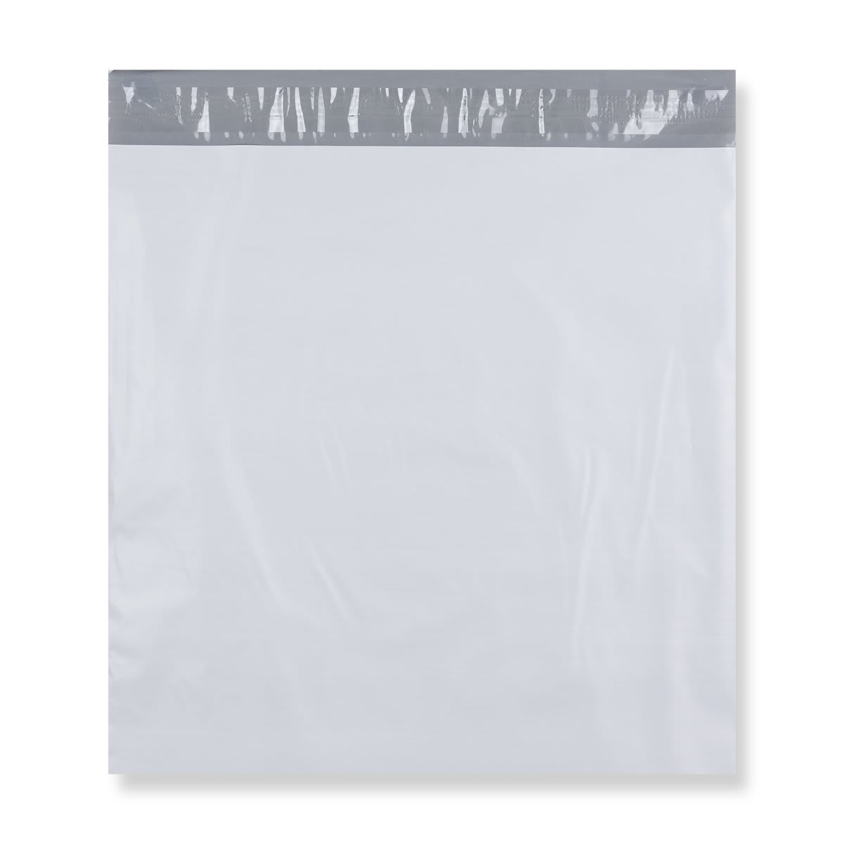 410 x 410 mm White Polythene Mailing Bags