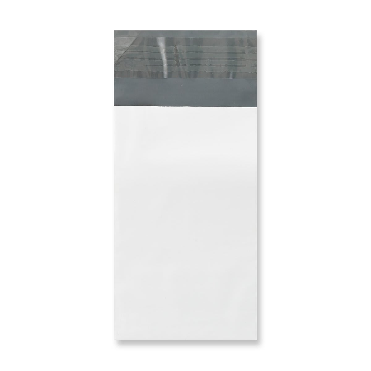 90 x 145 mm White Polythene Mailing Bags