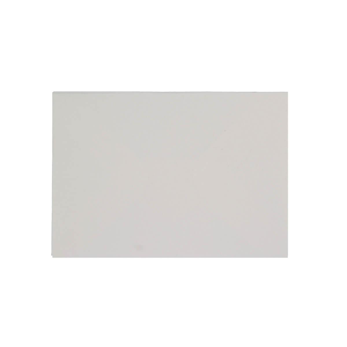 WHITE HAMMER EFFECT 70 x 100mm GIFT TAG ENVELOPE (i2)