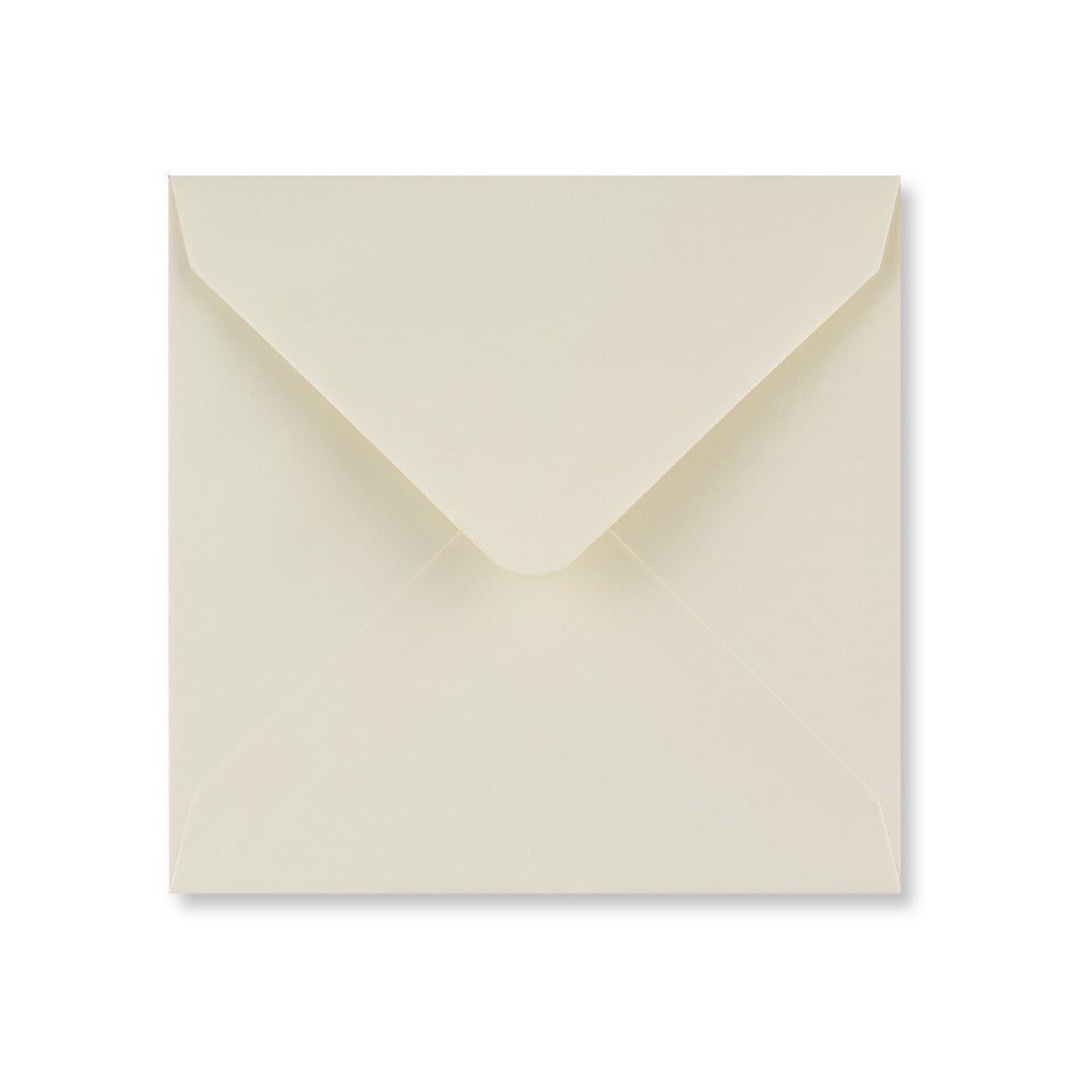 IVORY 130mm SQUARE ENVELOPE