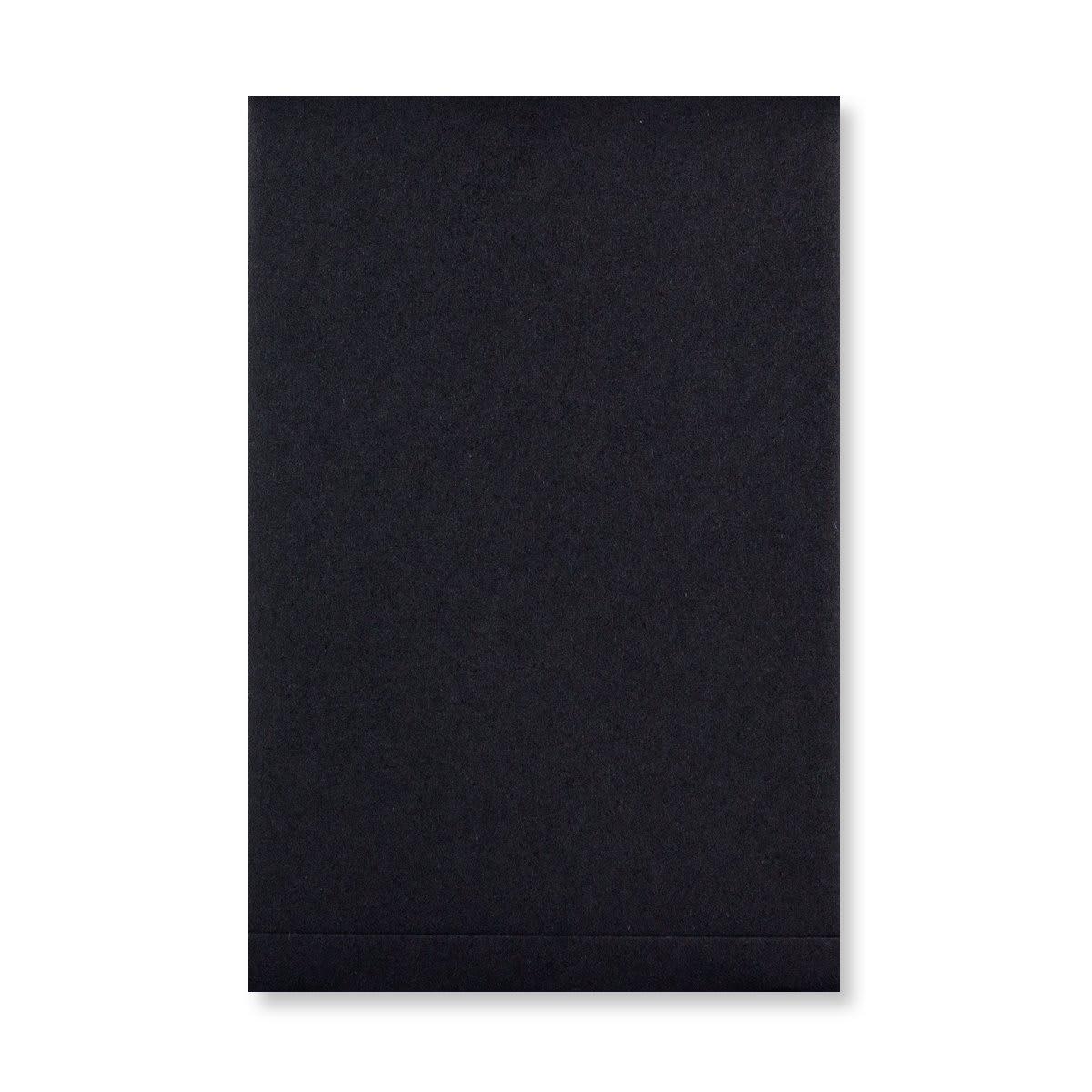 C6 BLACK GUSSET STRING & WASHER ENVELOPES 180GSM
