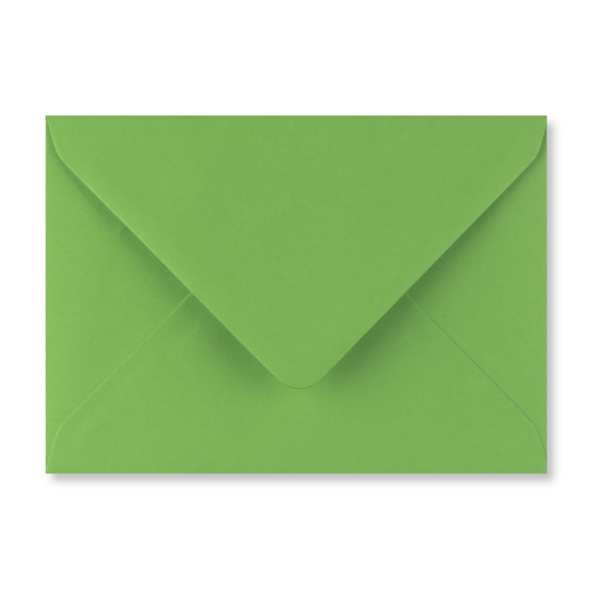 C6 FERN GREEN ENVELOPES