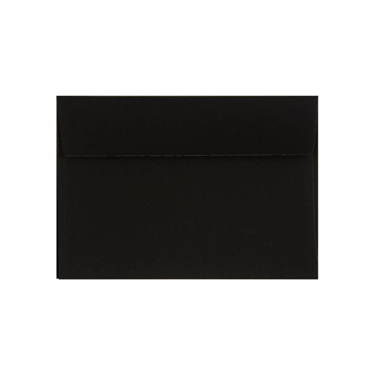 BLACK 70 x 100mm PEEL & SEAL ENVELOPES (i2)