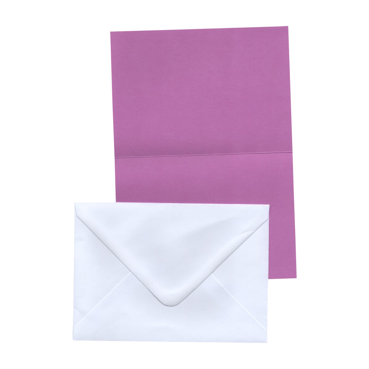 A6 LILAC CARD BLANKS & WHITE ENVELOPES (PACK OF 20)