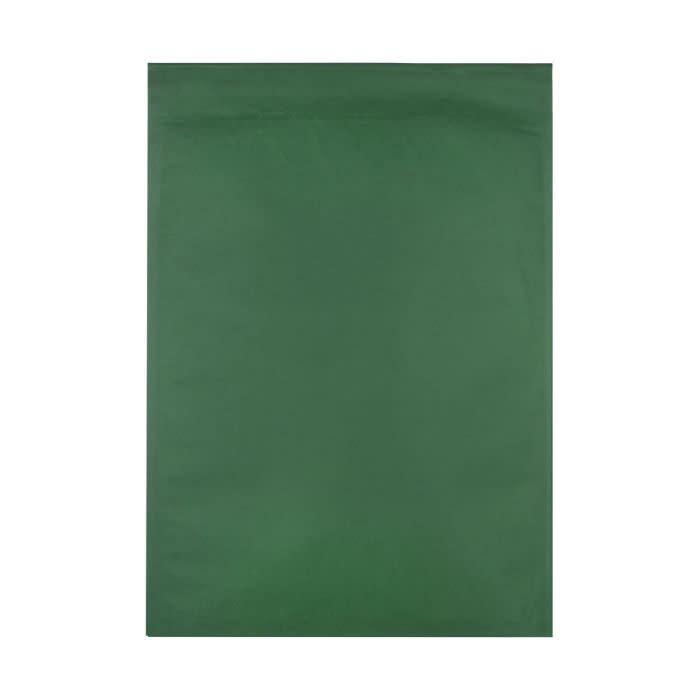165 x 100mm DARK GREEN ECO LIGHT PADDED BAGS