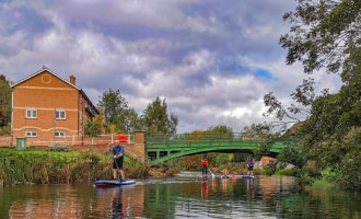places to sup kayak canoe essex