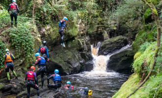 places to go canyoning