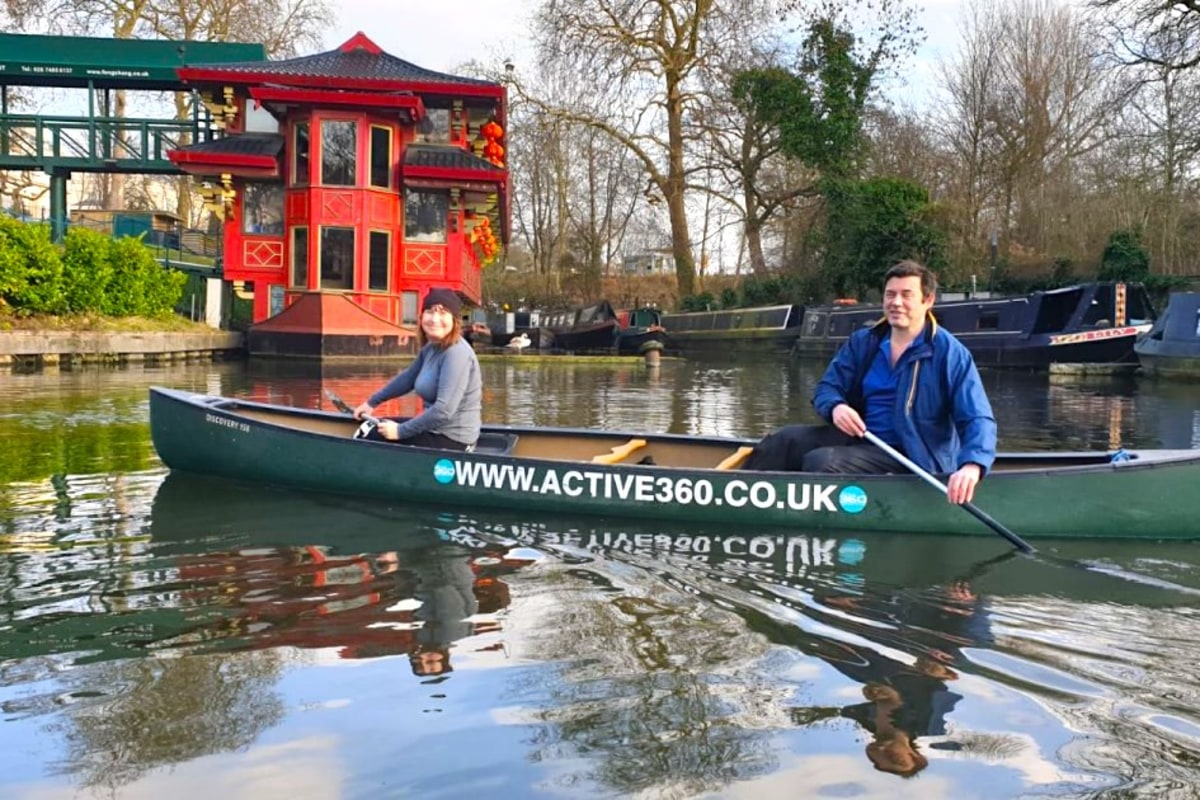 canoe tour with active360
