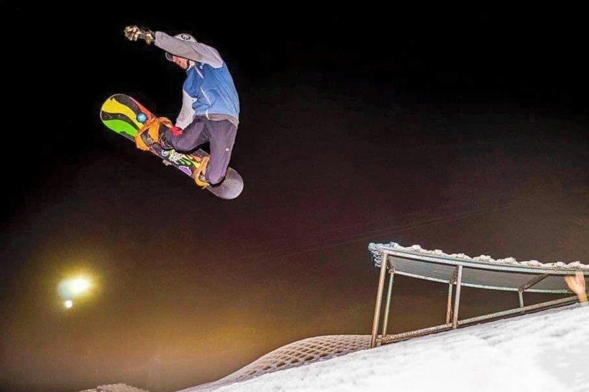 10 fitness - snowboarding