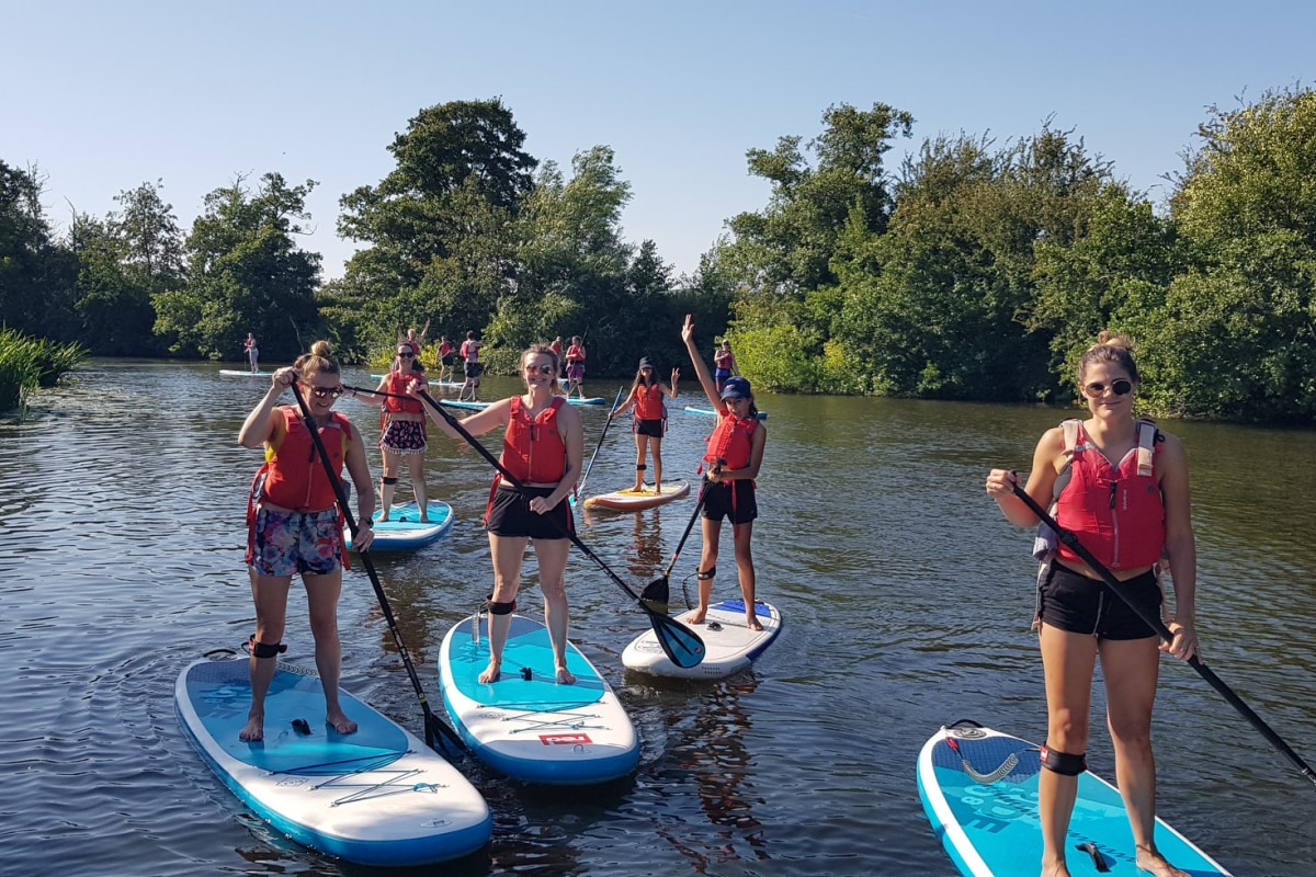 Book SUP now at UK Active Outdoors