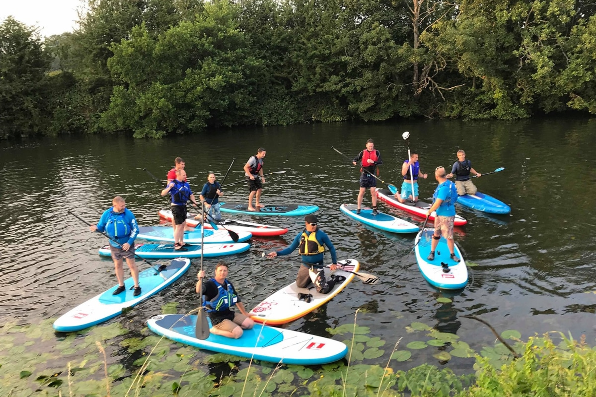 book canoeing at UK active outdoors