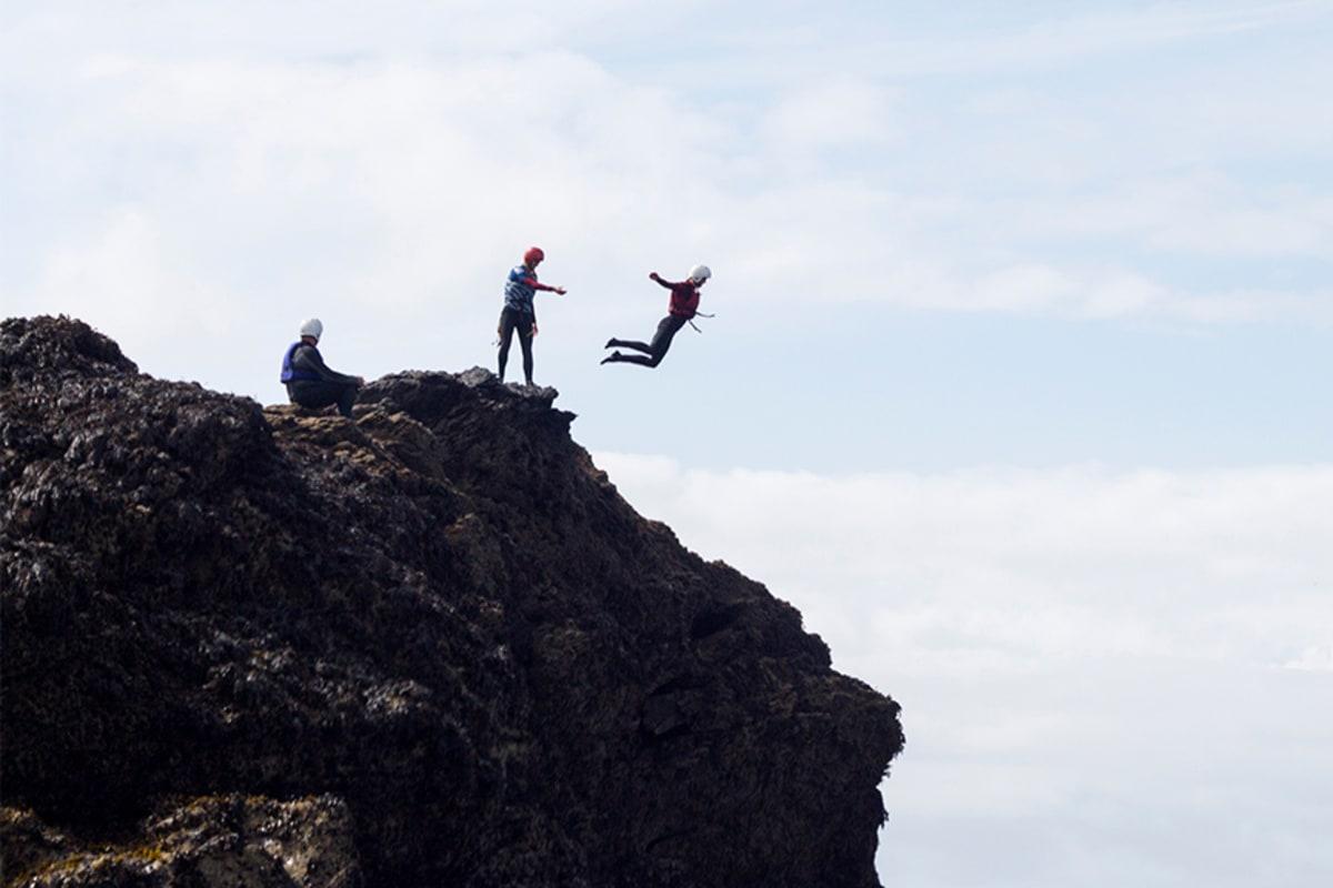 Cornish Rock Tors Coasteering
