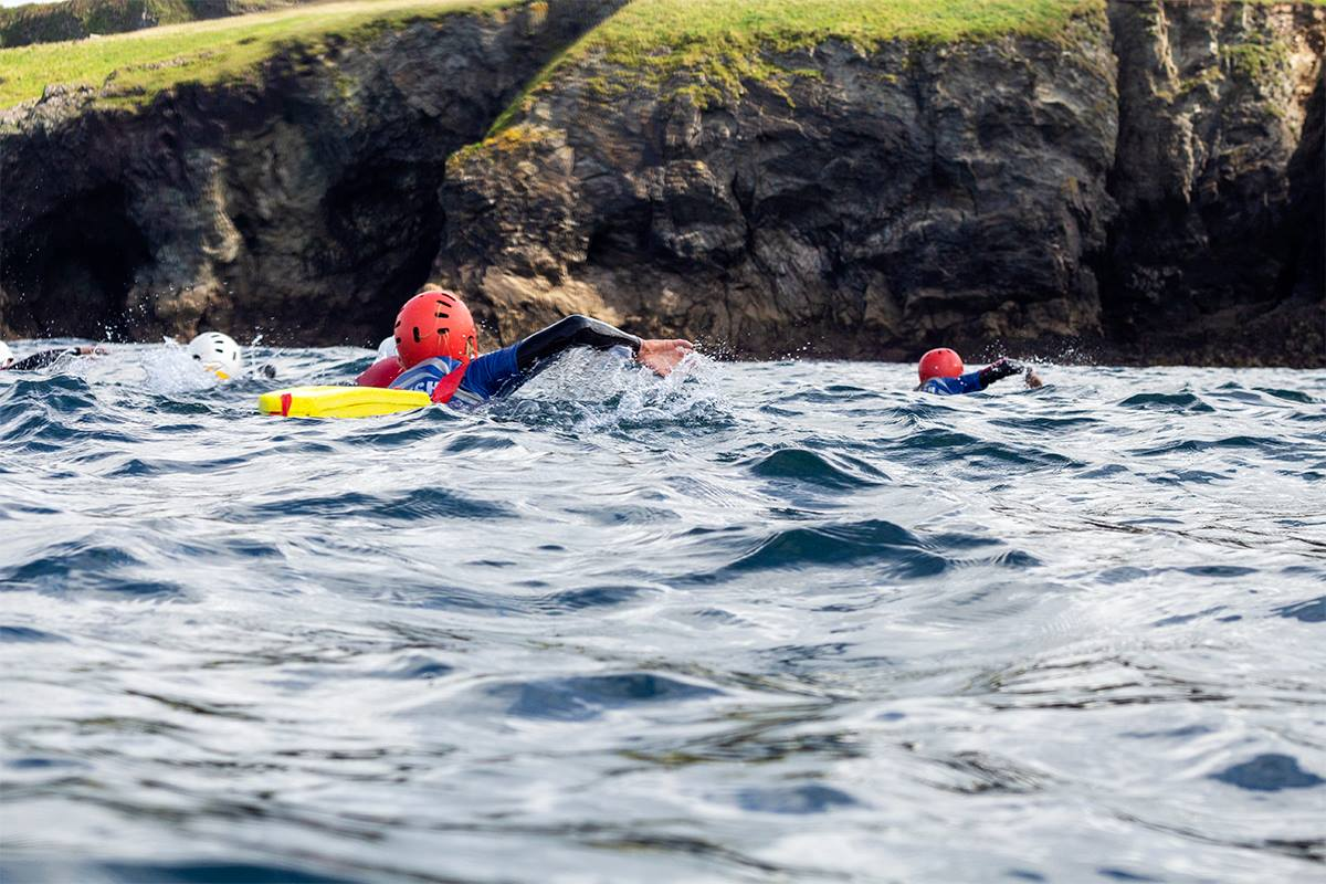 Cornish Rock Tors Swimming