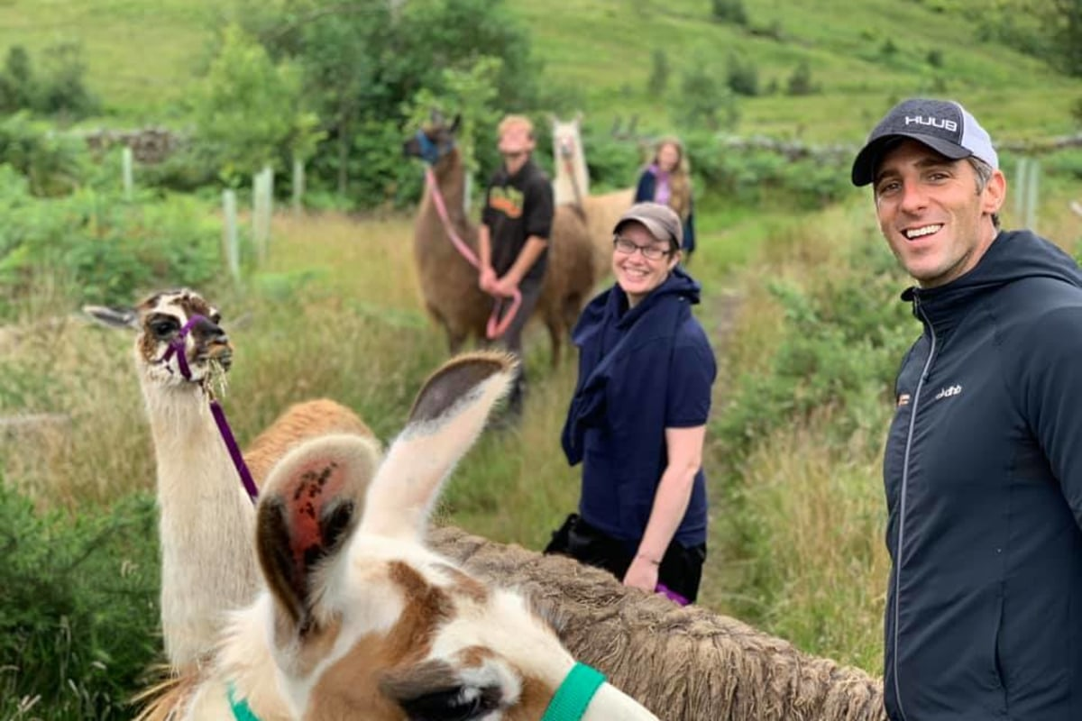 Book a Llama or Alpaca Trek at Woolly Farm