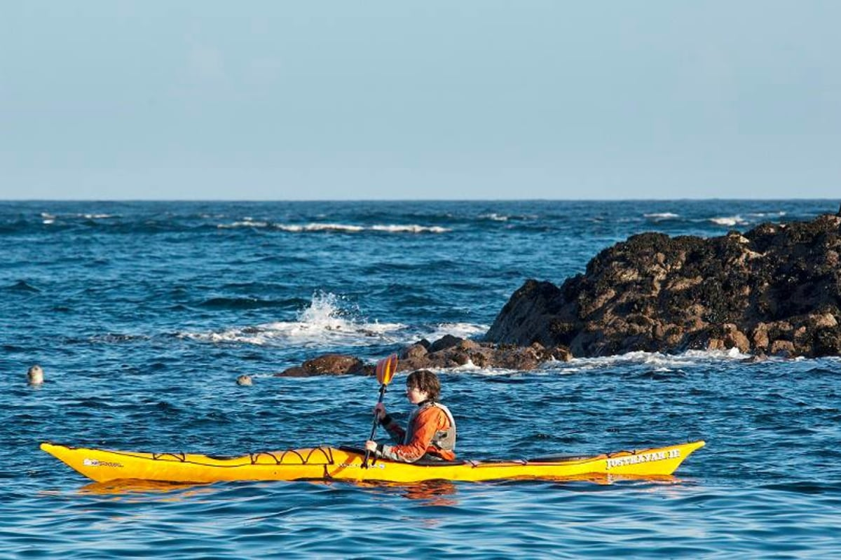 Book kayaking with Inish Adventures