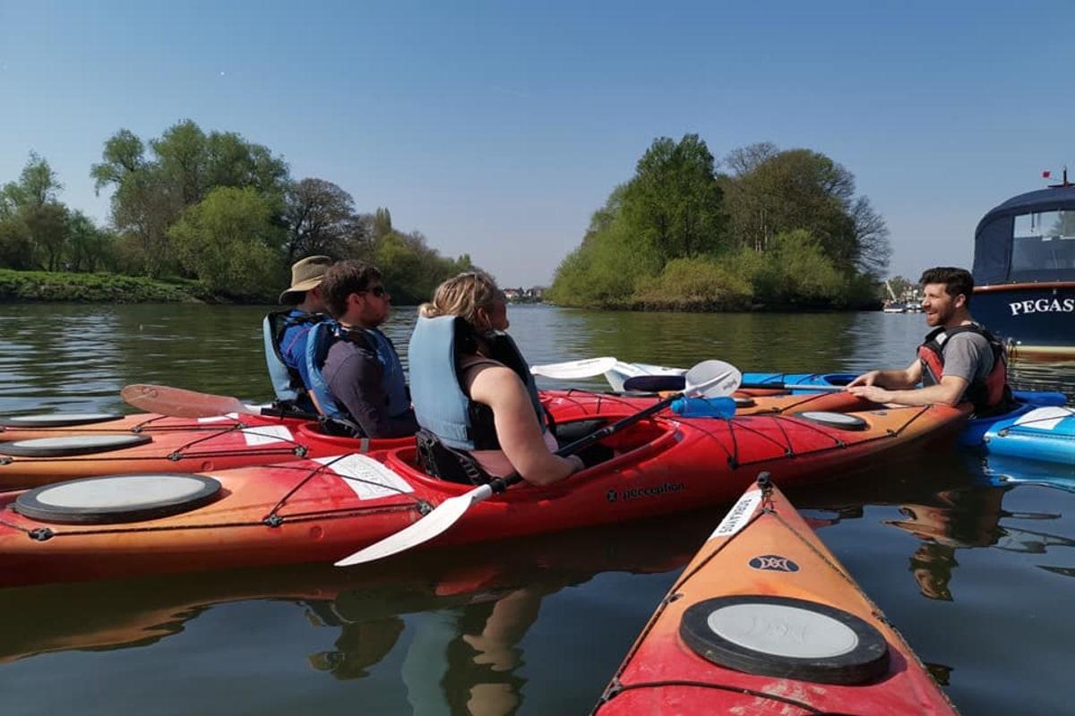 Back of Beyond Kayak Class