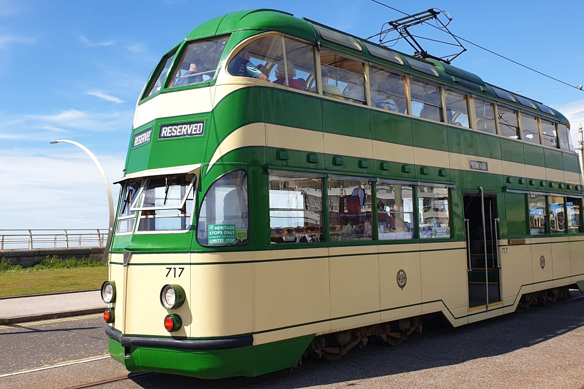 Book a tram tour now at Blackpool Heritage Tours