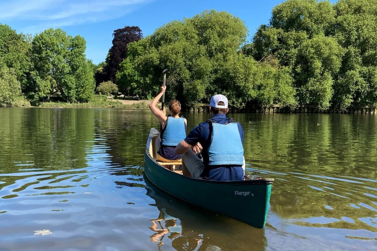Book canoeing with Back of Beyond Adventures