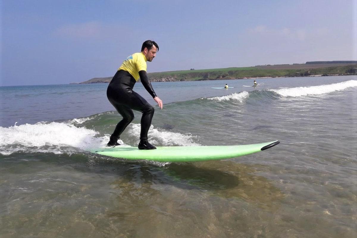 Suds Surf School Surfing