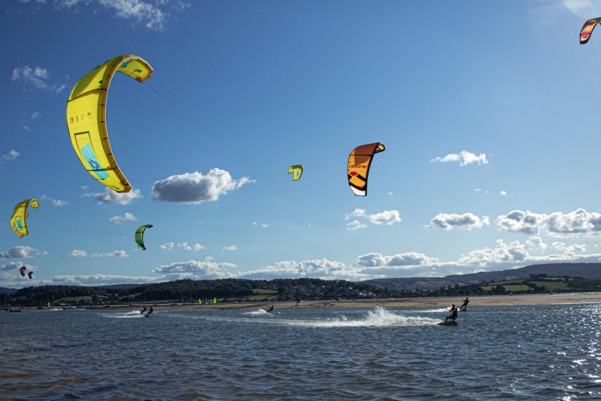 Book now kitesurfing with Edgewatersports