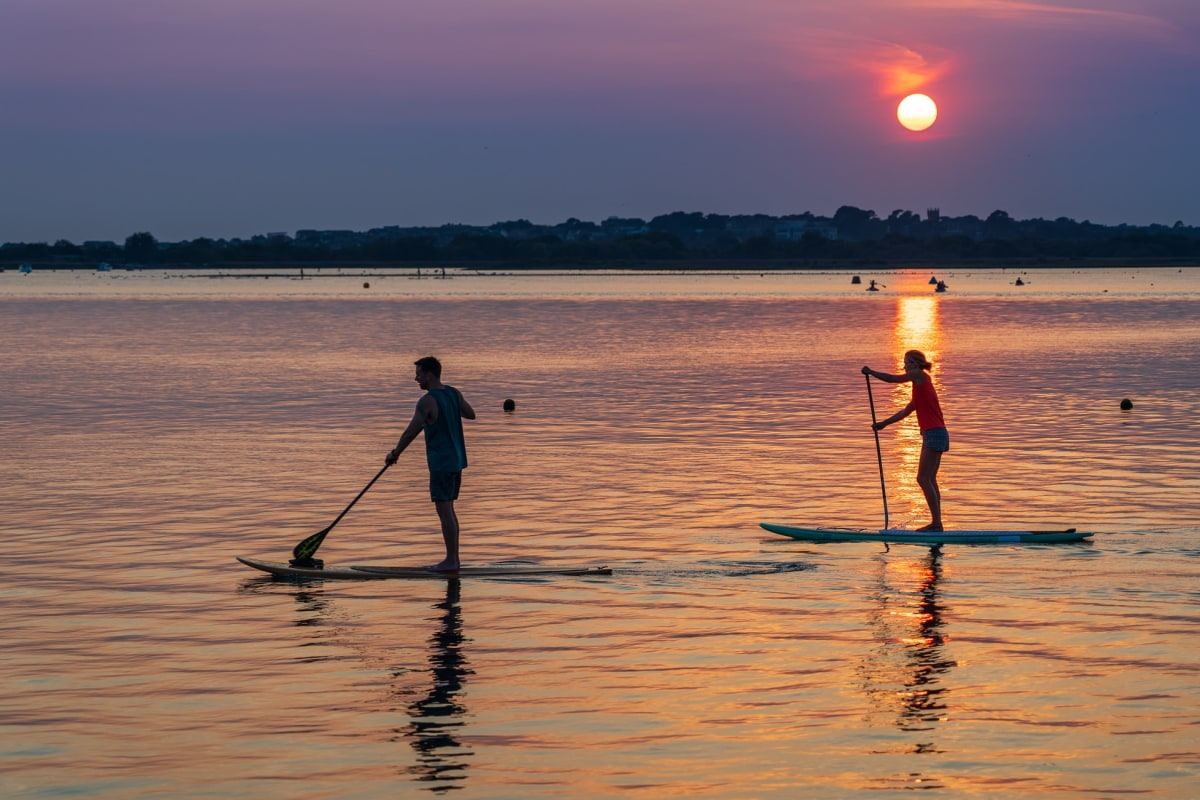 Book now SUP with Dorset SUP