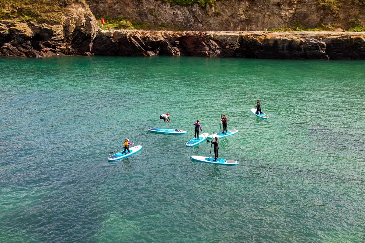 Book now SUP with Cornish Rock Tors