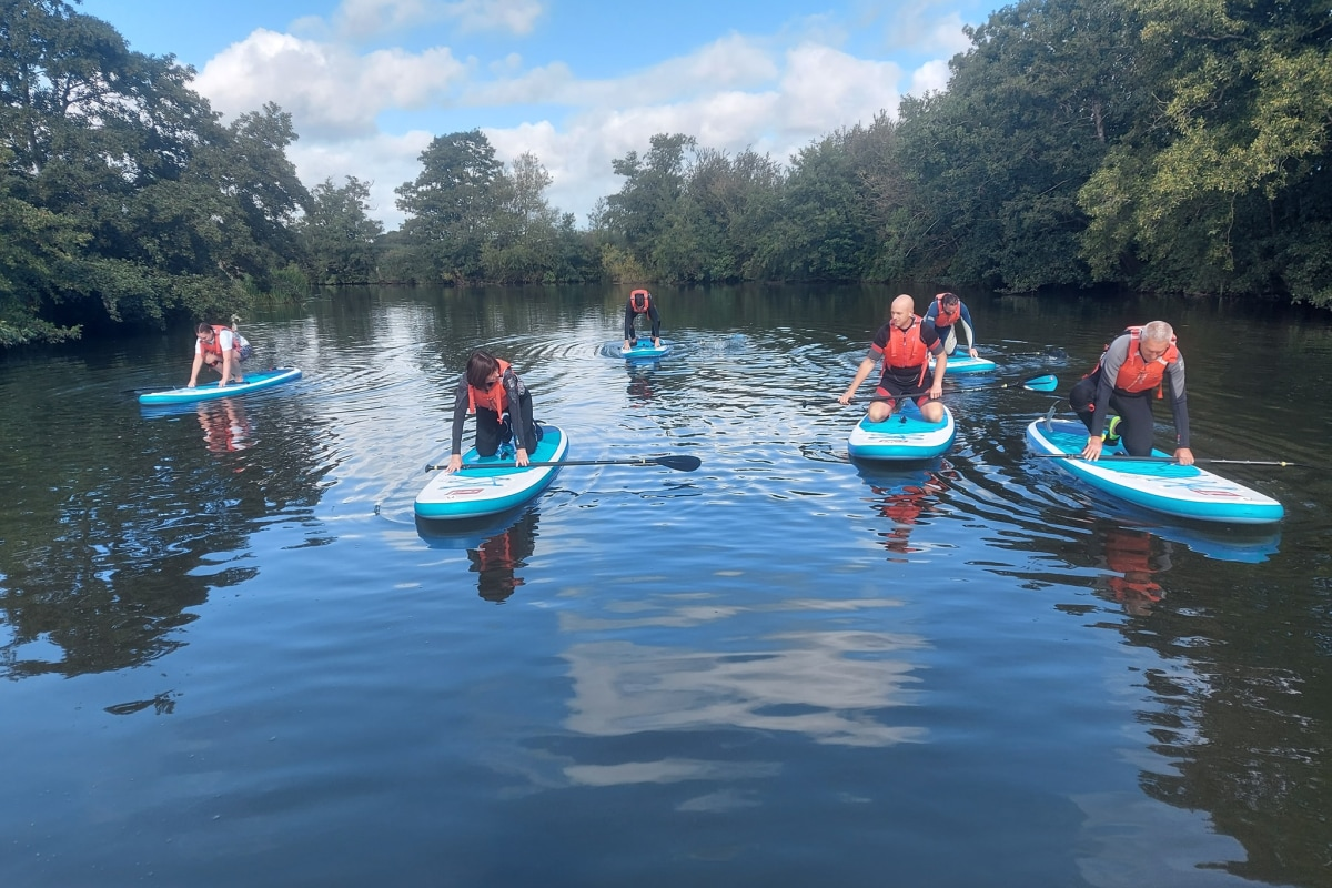 Book now SUP with UK Active Outdoors