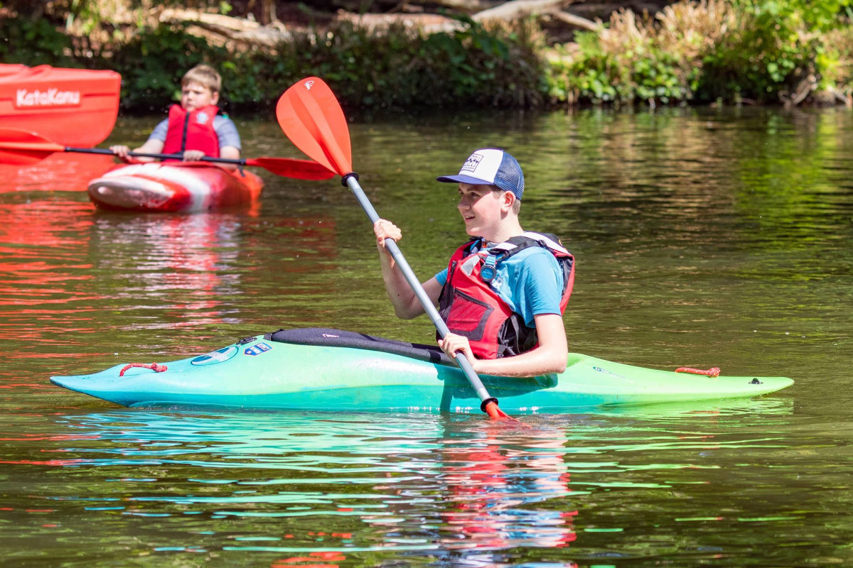 Book now kayaking with Woodmill Outdoor Activity Centre