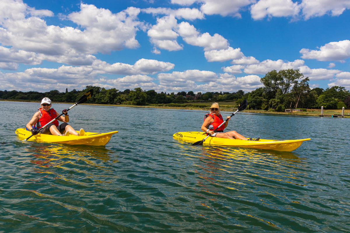 Book now kayaking with The Paddle Centre