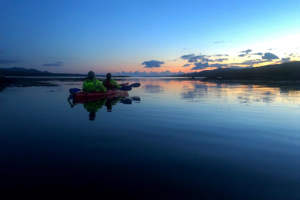 Book now night kayaking with Emerald Outdoors