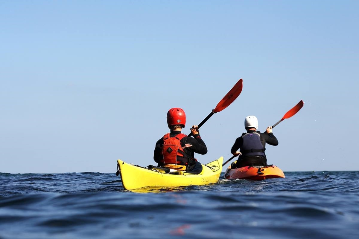 Book a kayaking session now