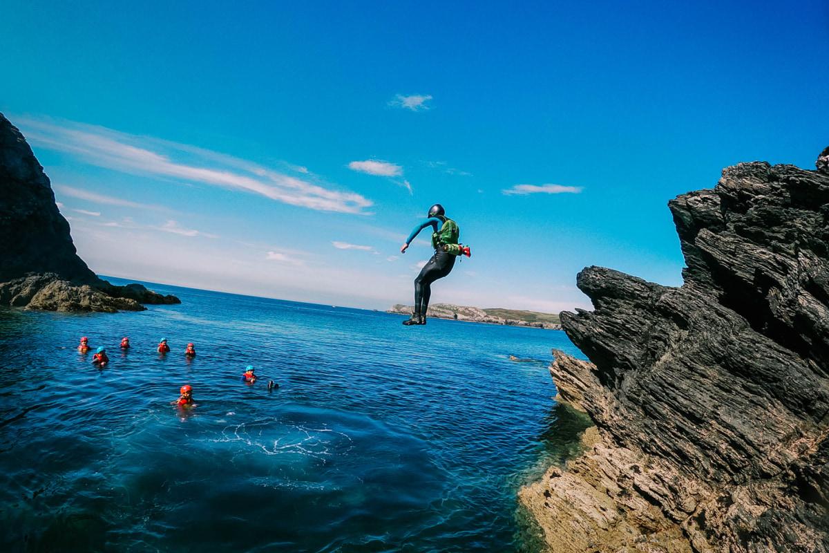 book a coasteering adventure