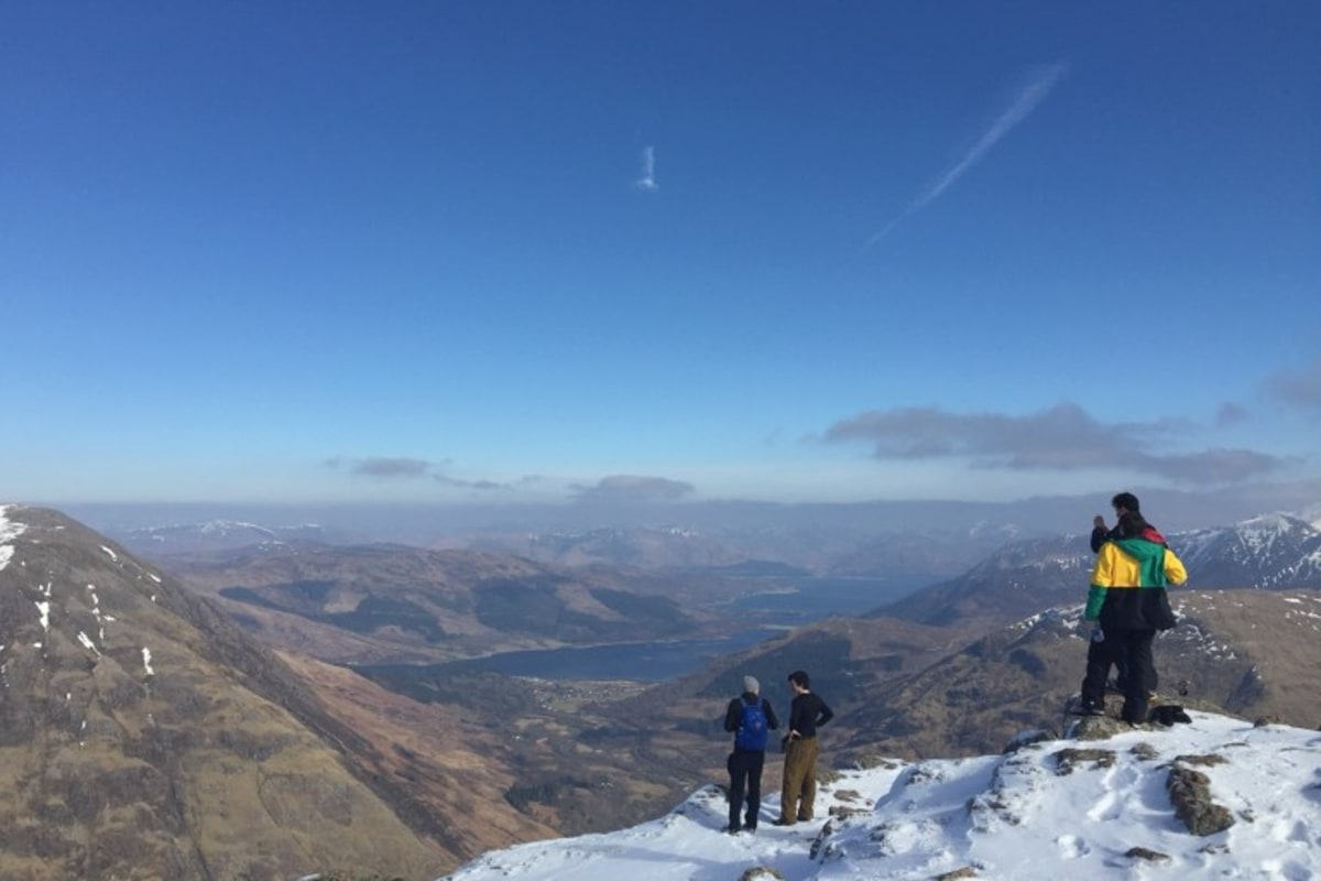 Book now a mountaineering session