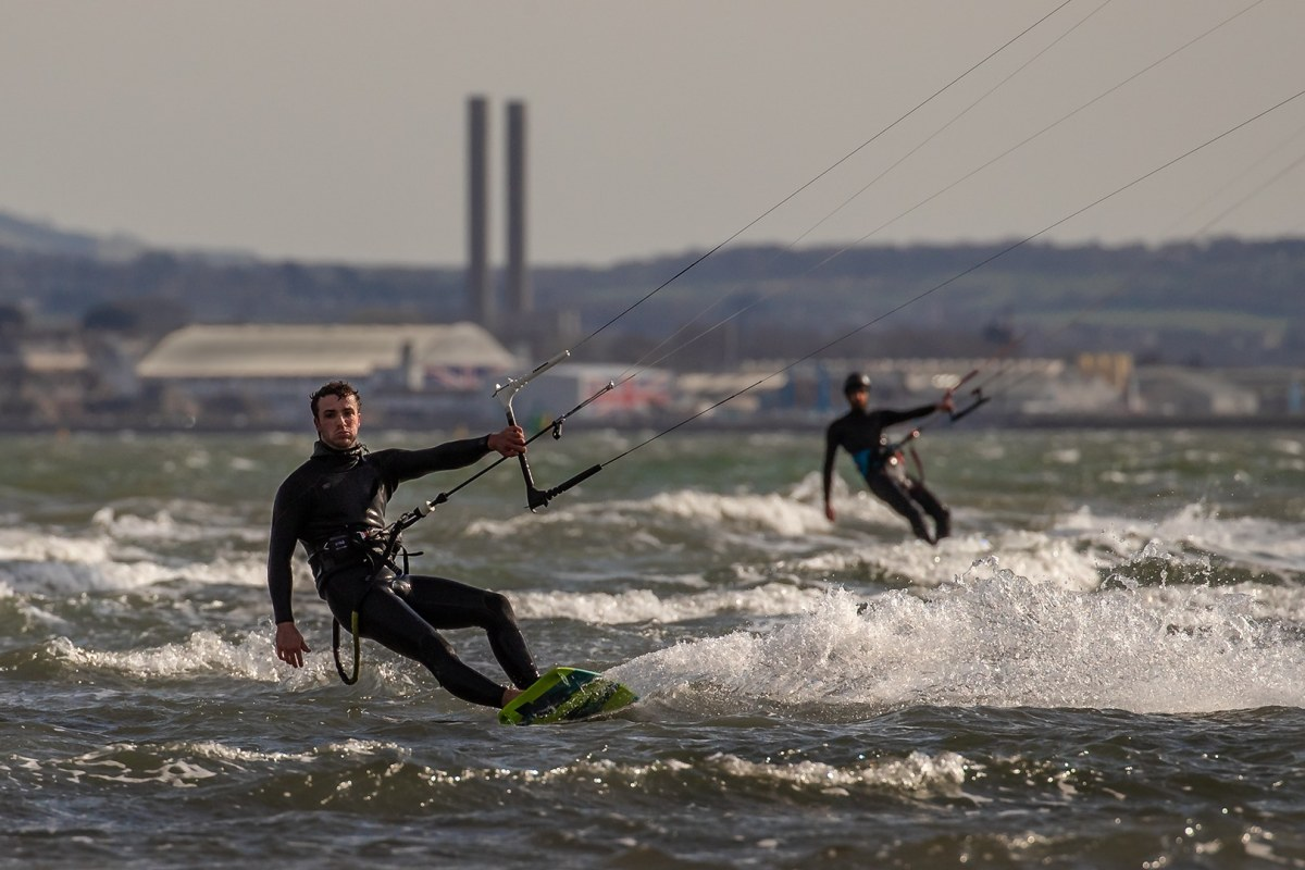 Book now a kitesurfing session