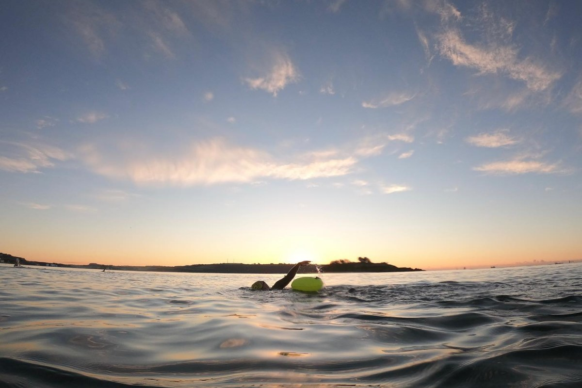 Book now an open water swimming session