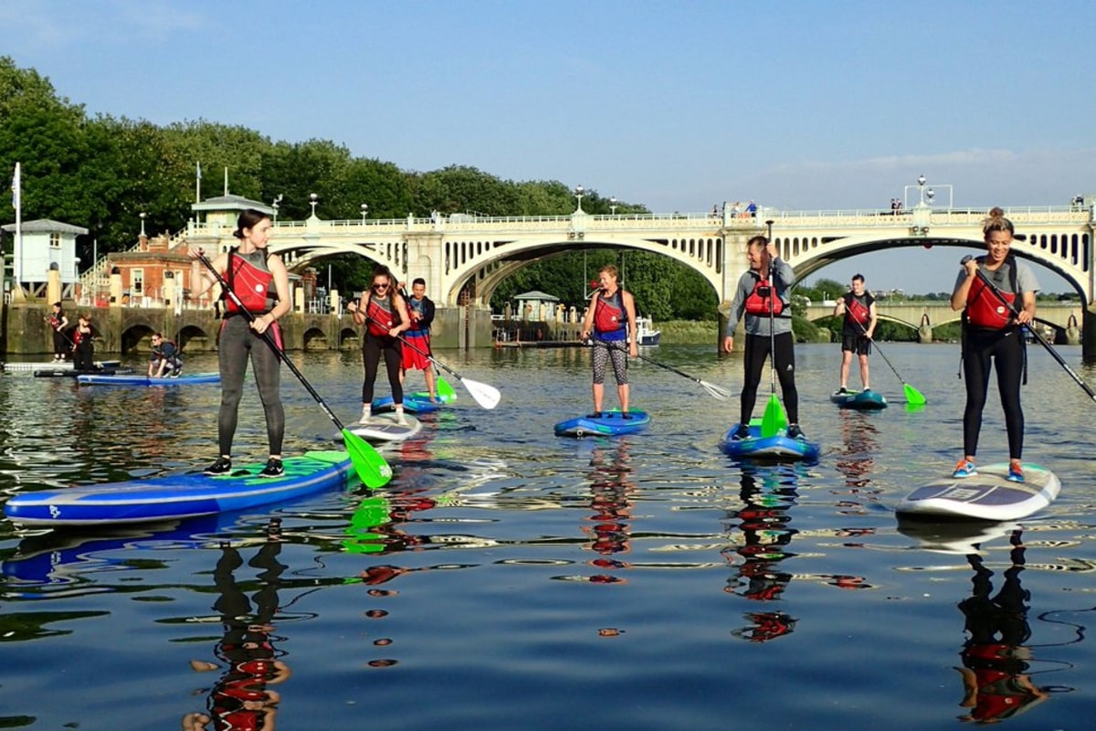 Book a SUP session with Active360 Richmond