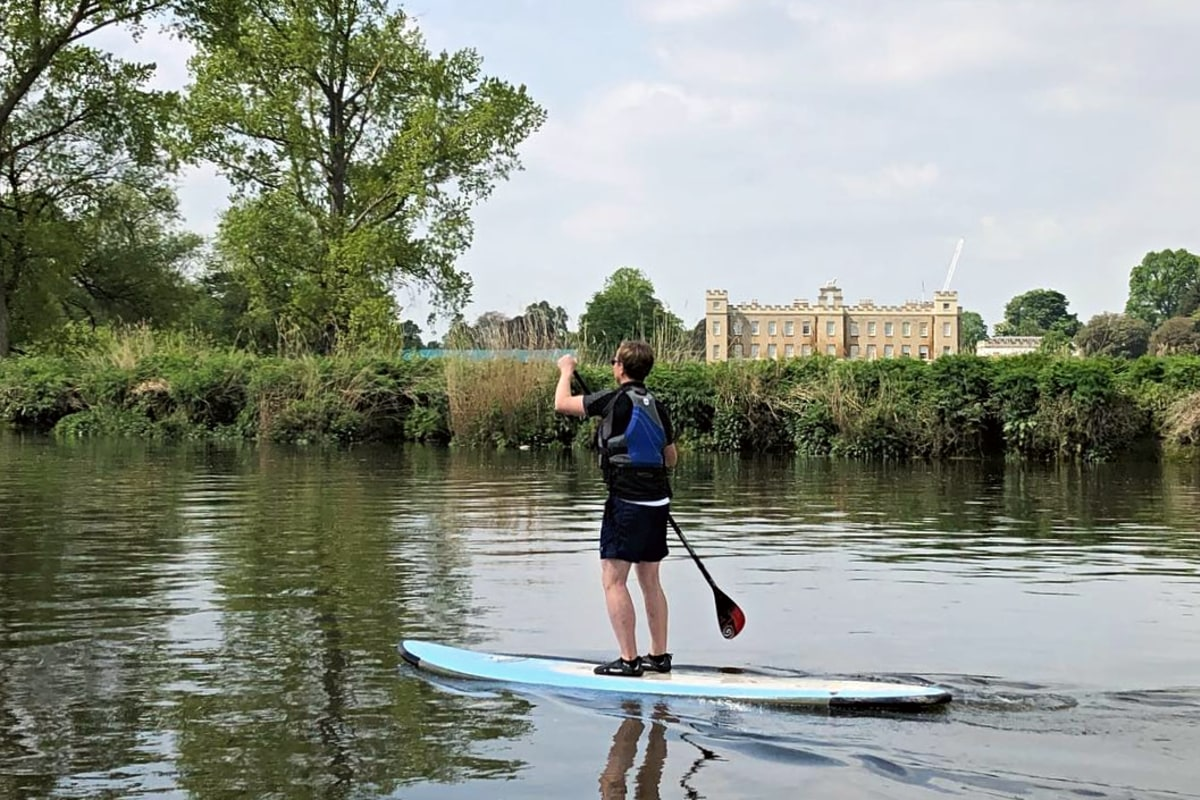 Go on a SUP adventure with Active360 Richmond