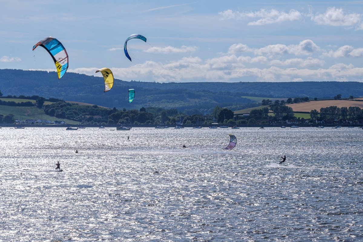 Book kitesurfing with Edge Watersports