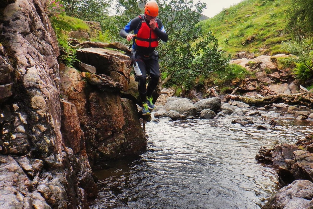 Book canyoning with Lake District Mountaineering