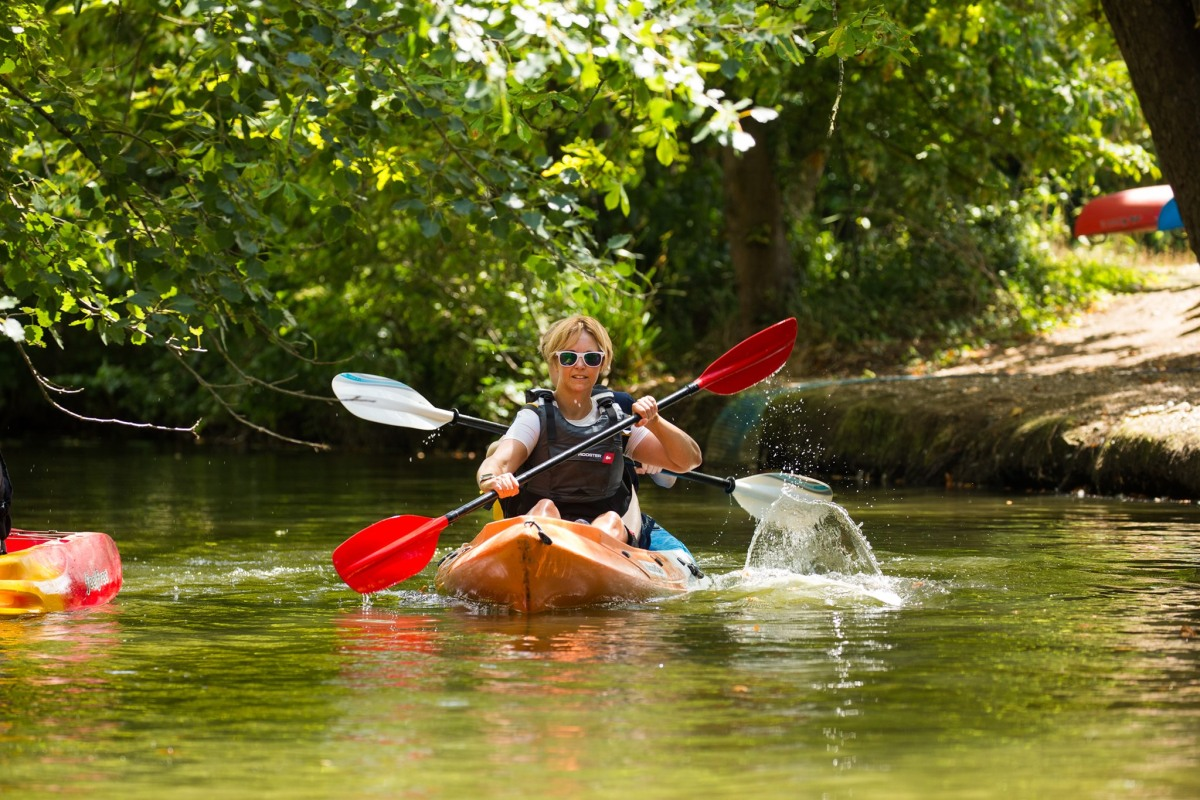 Book kayaking with Woodmill OAC