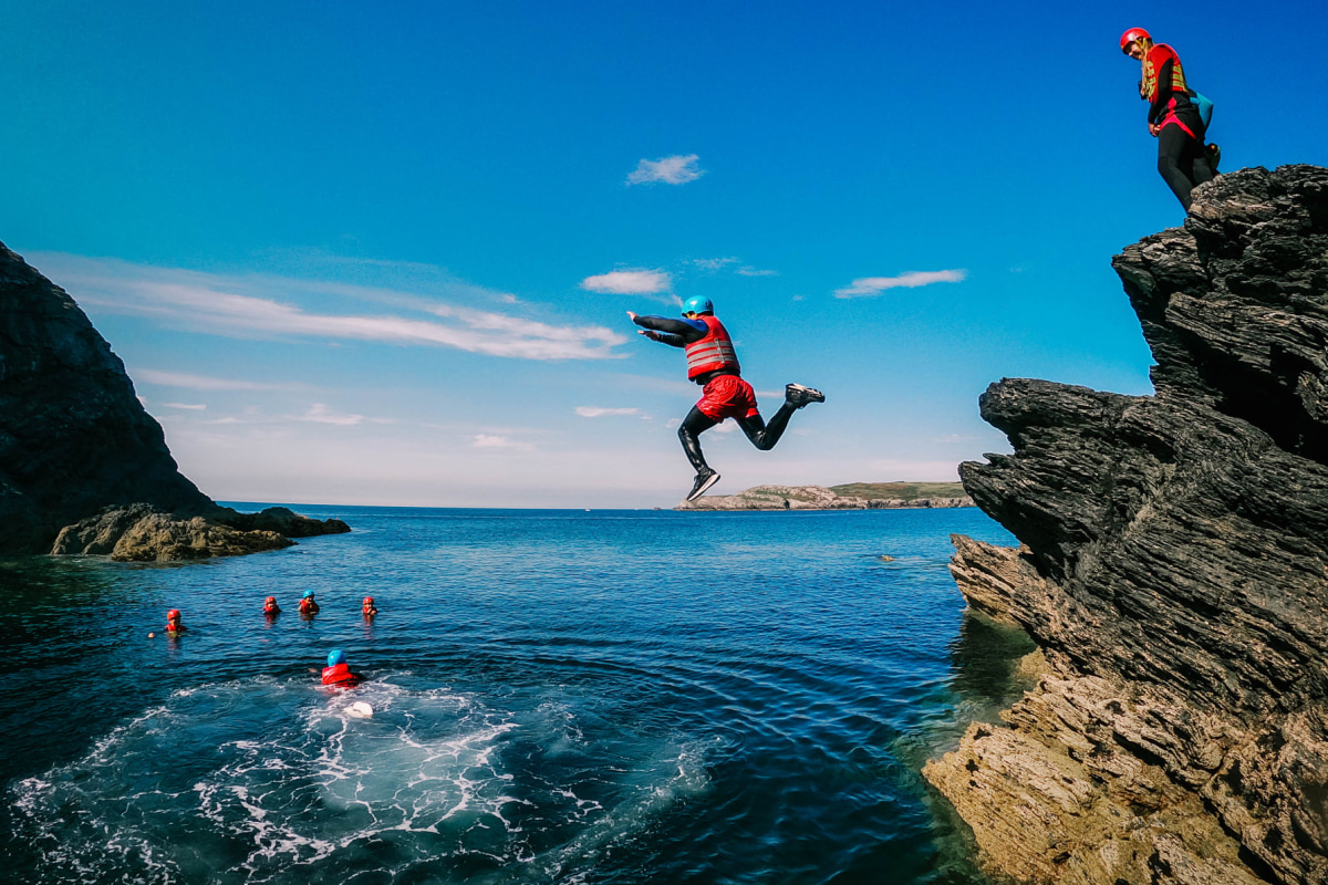 Book coasteering with Anglesey Outdoors